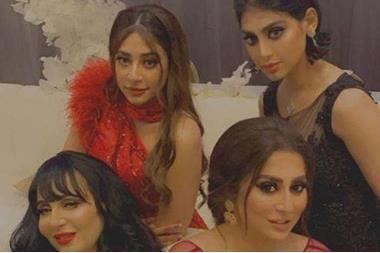 بالفيديو شيلاء سبت وشقيقتها تثيران الجدل بعد انتهاء حفل زفاف شذى الوكيل الاخباري