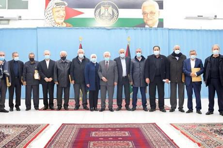 عباس يرحب بالنتائج الإيجابية لجلسات الحوار الوطني الأخيرة التي عقدت بالقاهرة