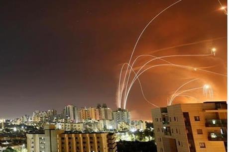 دفعة جديدة من الصواريخ من غزة على الاراضي المحتلة
