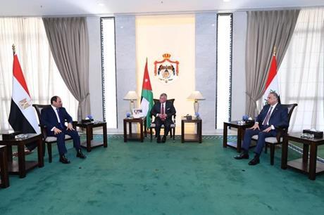 انطلاق أعمال القمة الثلاثية في بغداد