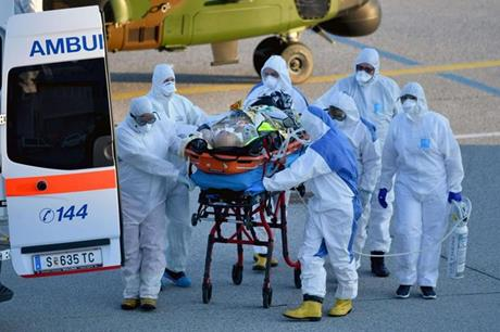 الولايات المتحدة في صدارة إصابات كورونا في العالم