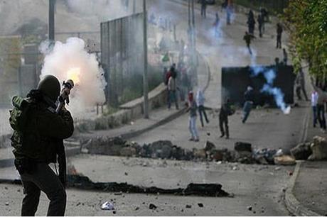 إصابات بالرصاص خلال مواجهات مع الاحتلال في نابلس